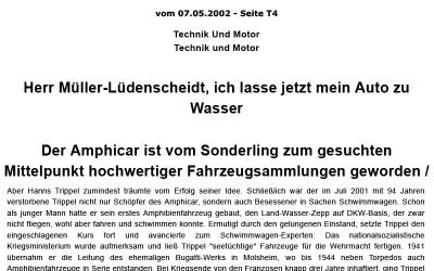 Artikel aus der FAZ vom 07.05.2002