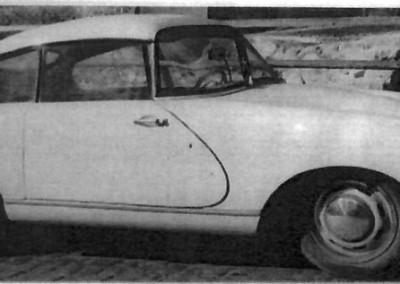 Mit diesem Fahrzeug wurde Herr Kirchammer bei Weidner das 1. Mal vorstellig