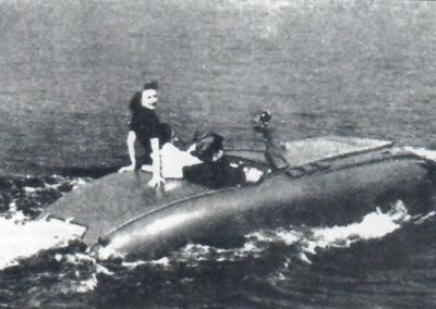 Schwimmwagen im Einsatz