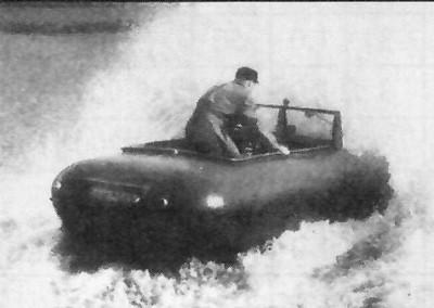 Trippel Schwimmwagen
