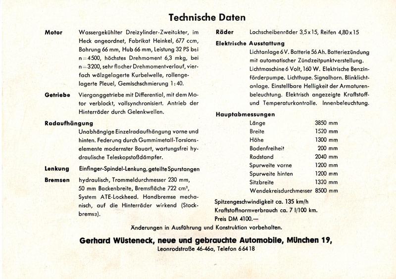 Datenbaltt-Automobile München