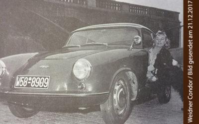 Bild mit Weidner Condor und einer jungen Frau